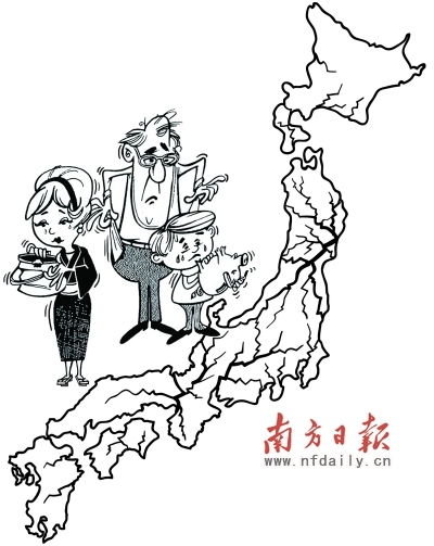 小学生改革开放四十周年简笔画-地震给日本及世界经济造成重创 至少