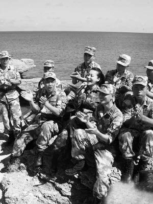 北礵岛部队照片