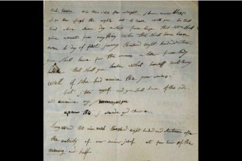 拿破仑写于流放期间英文书信拍出32万欧元图片