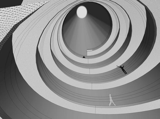 前世今生 把发电厂改造成当代艺术博物馆并不容易:第一要完整地保留110年历史的民族工业的遗存;第二要满足各种展览的可能性;第三还要体现上海当代艺术博物馆更加开放、更加通透、更加亲民的特色。  当代艺术博物馆的大烟囱内部效果图  从浦东隔江观上海当代艺术博物馆 9月12日,毗邻浦江、位于苗江路上的上海当代艺术博物馆仍然是一派忙碌的工地景象。那根引人注目的大烟囱上,温度计的字样仍然在闪烁这里原本是2010上海世博会的城市未来馆,前身则是有着百年历史的南市发电厂所在地。 六年前,这座最高达八层的建筑里还曾