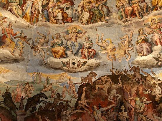 米开朗基罗《末日审判》:教皇曾吼涂掉