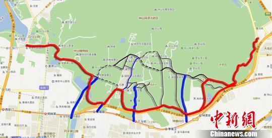 南京钟山风景区是该市知名的旅游目的地