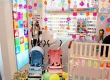 展位内婴幼儿的产品应有尽有