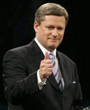 加拿大总理哈珀