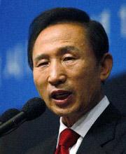 韩国总理李明博
