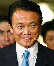 日本首相麻生太郎