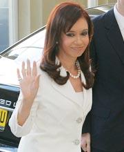 阿根廷总统克里斯蒂娜